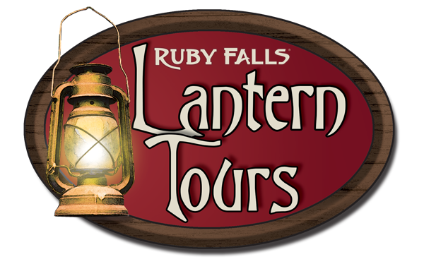 Lantern Tour Logo at Ruby Falls
