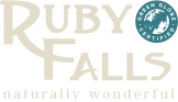 Ruby Falls footer logo