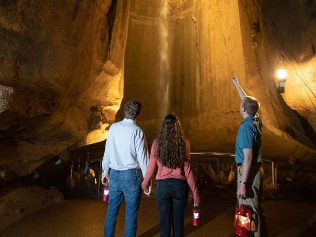 Romance Awaits This Valentine's Day at Ruby Falls logo